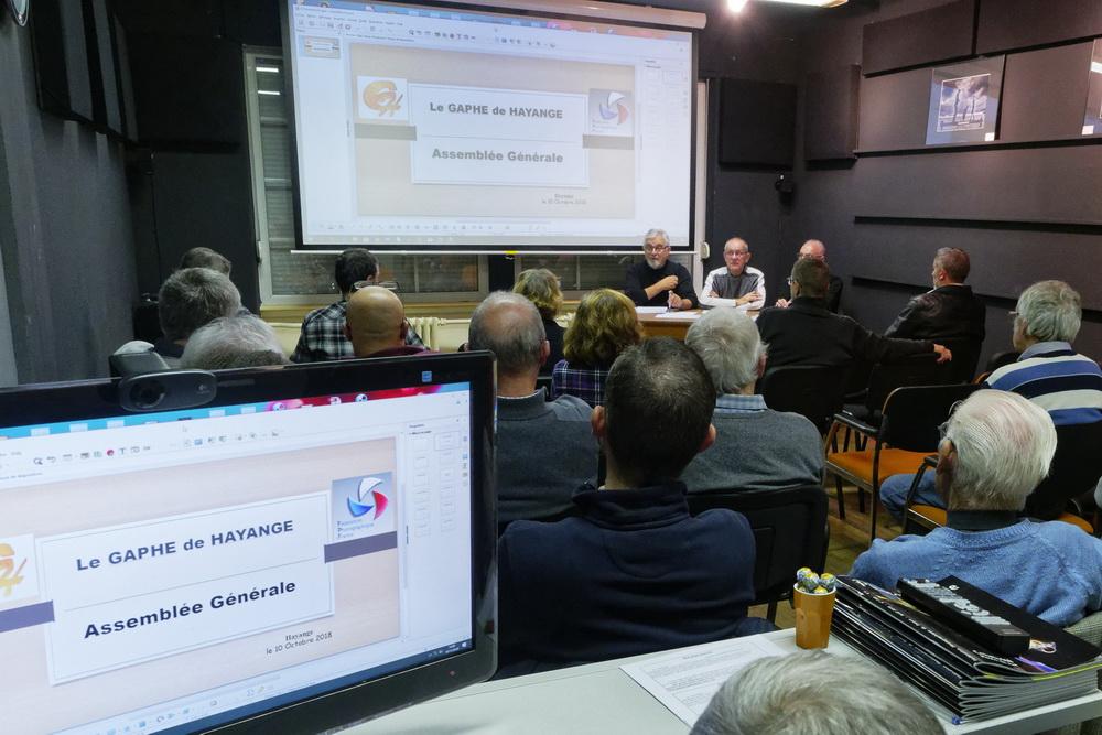 Assemblée Générale du GAPHE 2018 : bilan et perspectives