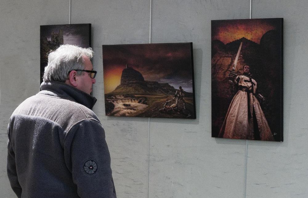 Jean-Marc ROHMER expose à la Médiathèque de Terville  – Avril 2019