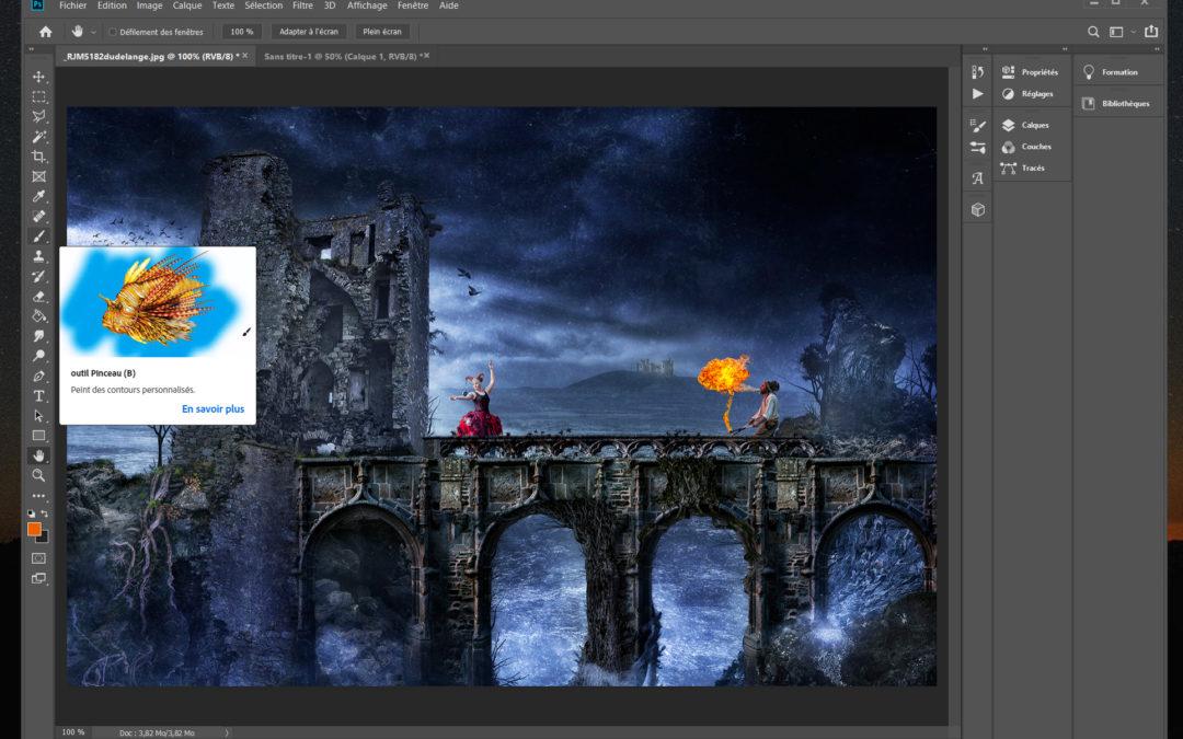 Formation « initiation à Photoshop pour les débutants » – nov. 2019