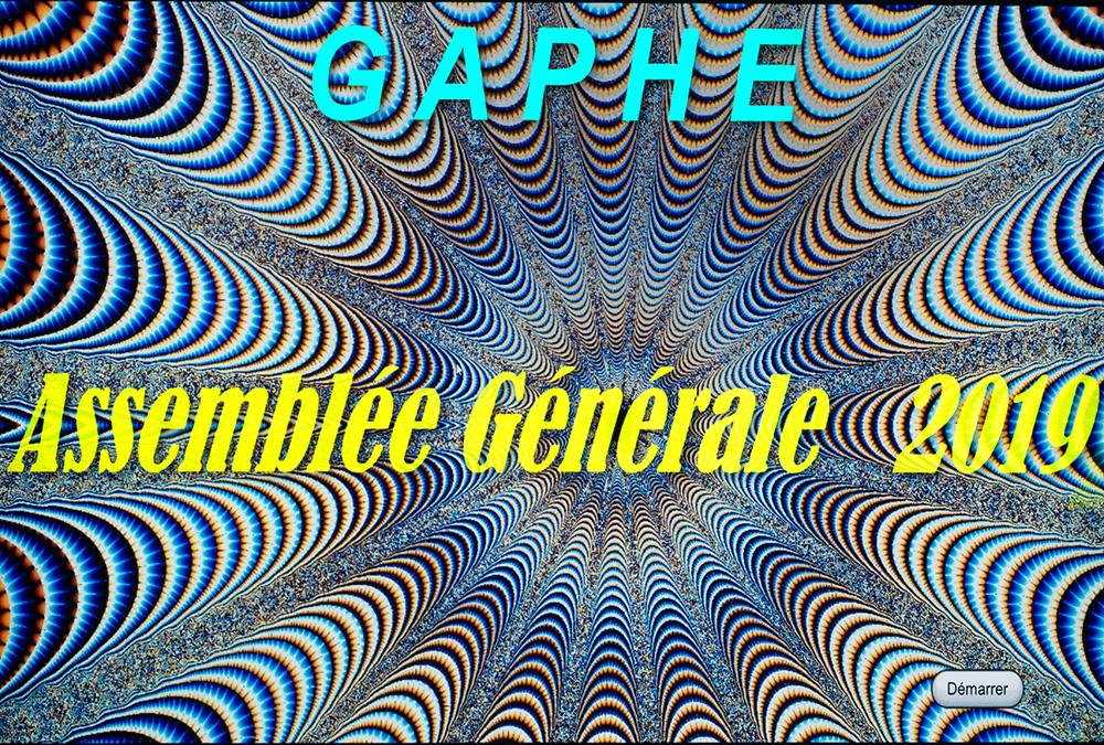 Assemblée Générale du GAPHE  –  9 novembre 2019